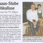 Allgäuer Zeitung 1.Dezember 2011