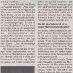 Mindelheimer Zeitung 21.Oktober 2011