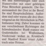 Mindelheimer Zeitung 30. April 2013