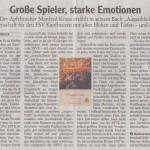 Allgäuer Zeitung 7. November 2012