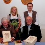 Mundartlesung beim Festabend zu Apfeltrachs 950-Jahr-Feier (Oktober 2013)