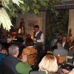 Lesung im Café Kunterbunt des Ateliers Fleschutz in Breitenbrunn (November 2013)