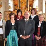 Beim Festgottesdienst zum zehnjährigen Bestehen des Fördervereins mundART Allgäu in der Pfarrkirche Hl. Geist zu Durach (Oktober 2014)