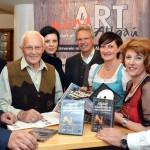 Bei der offiziellen Präsentation der DVD Allgäuer Dialektreise (5) in Rettenberg (Oktober 2013)