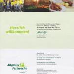 Festakt zur Eröffnung der 64. Allgäuer Festwoche in Kempten