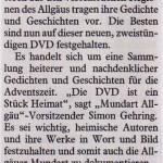 Allgäuer Zeitung vom 6. November 2013