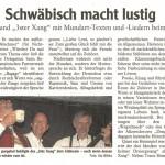 Neu-Ulmer Zeitung 29. April 2014