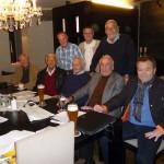Mit den Spielerlegenden Luggi Schuster, Alfred Hynek, Manfred Hubner, Ludwig Göttle und Fritz Sturm sowie Bürgermeister Ernst Holy und Dr. Bernhard Lehmann (Dezember 2014)