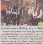 Mindelheimer Zeitung 14. November 2014
